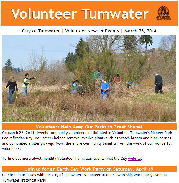 volunteer-tumwater-news