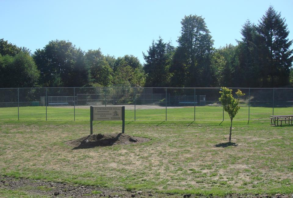 Tumwater Hill Park ball field