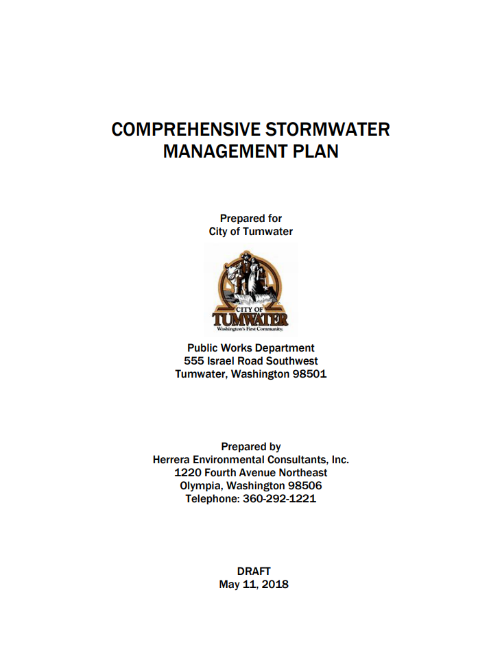 Comprehensive Stormwater Management Plan 2018