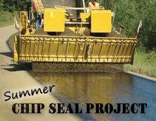 Chip Seal Project 2019